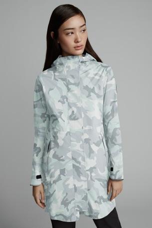 Women's Salida Rain Jacket Black Label Print