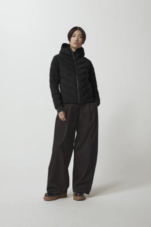Women's HyBridge CW Down Bomber Jacket Black Label