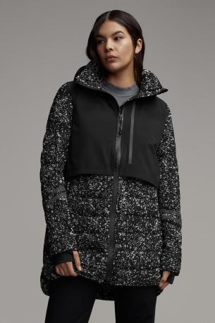 Women's HyBridge CW Element Reflective Down Jacket Black Label