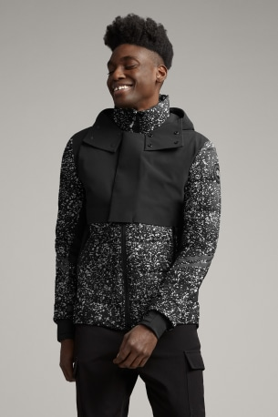Men's HyBridge CW Element Down Jacket Black Label Reflective