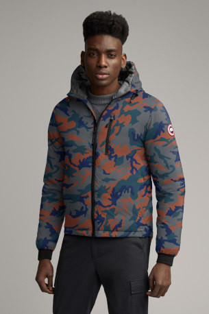 Men's Lodge Down Hoody Print