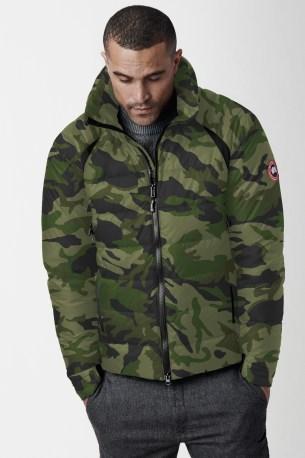 Men's HyBridge Base Down Jacket Print