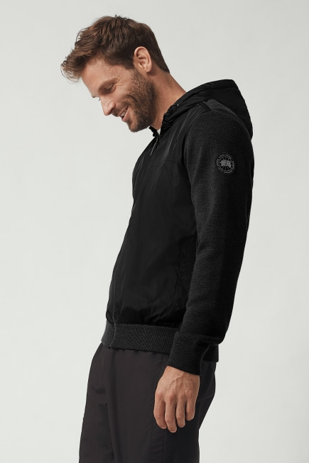 Blouson à Capuche WindBridge Black Label