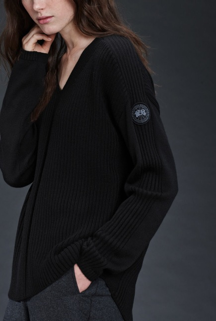 Kimberley V Neck Sweater Black Label