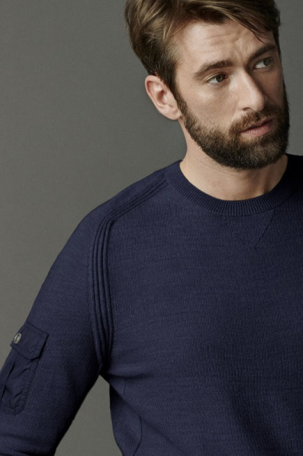 Rutledge Crew Neck Jumper Black Label