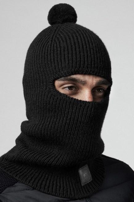 男士羊毛巴拉克拉法帽