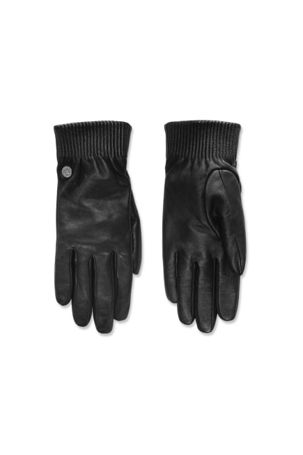 Leather Rib Gloves