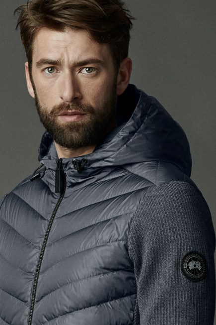 HyBridge Strick-Kapuzenjacke Black Label