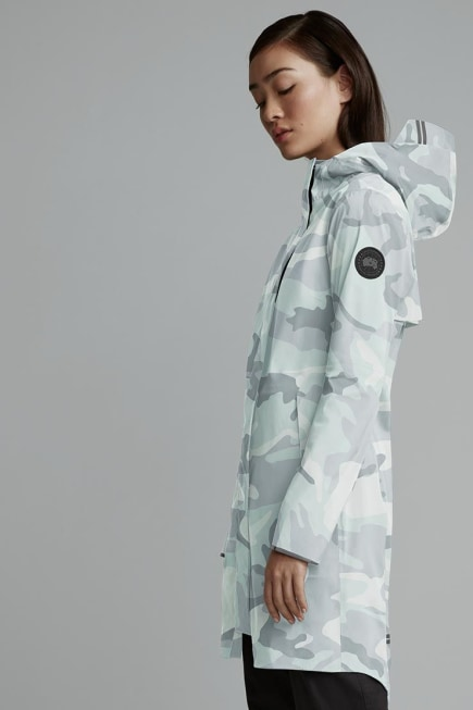 Women's Salida Rain Jacket Black Label Print