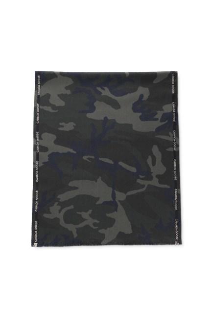 Gewebter Schal mit Webkante Print