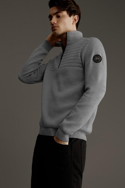 Clarke Pullover mit ¼-Reißverschluss