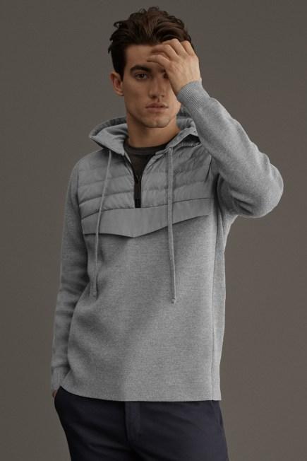 HyBridge 针织滑雪衫