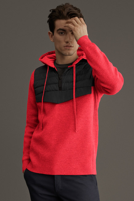 HyBridge Knit Anorak