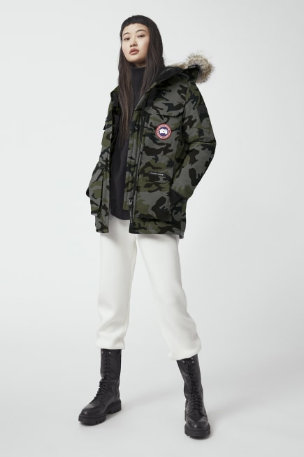 Parka Expedition Fusion Fit stampato