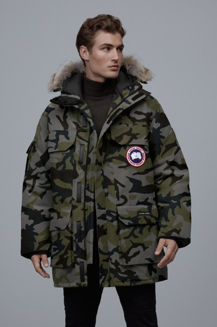 Parka Expedition stampato