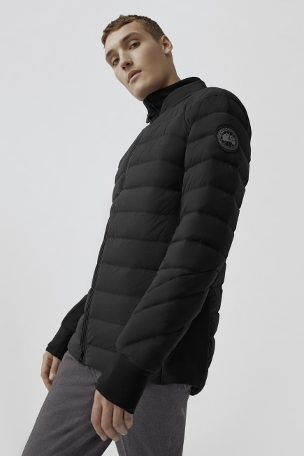 Mens's HyBridge CW Down Bomber Black Label