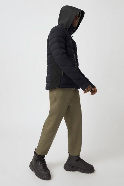 Men's HyBridge CW Down Jacket Black Label
