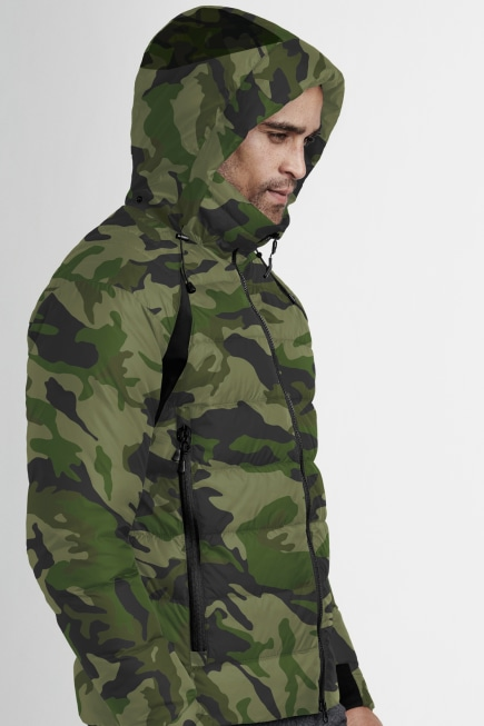Men's HyBridge Base Down Jacket Print