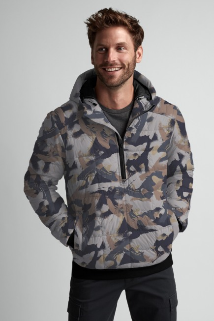 Men's Wilmington Down Pullover Print