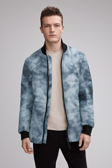 Men's Harbord Down Jacket Print