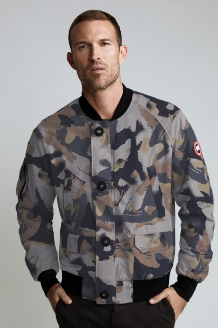 Men's Faber Bomber Jacket Print