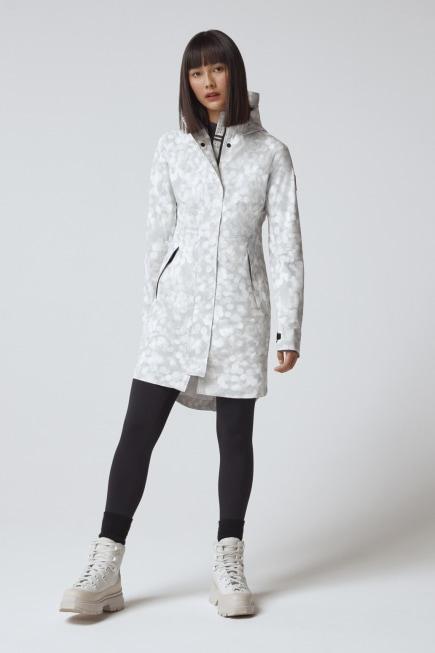 女士 Salida 印花防雨夹克