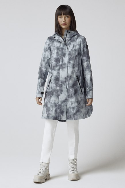 Women's Kitsilano Rain Jacket Black Label Print