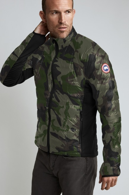 Men's HyBridge Lite Down Jacket Print