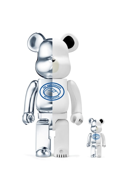 BE@RBRICK Canada Goose Polar Bears International Set 100% 400%
