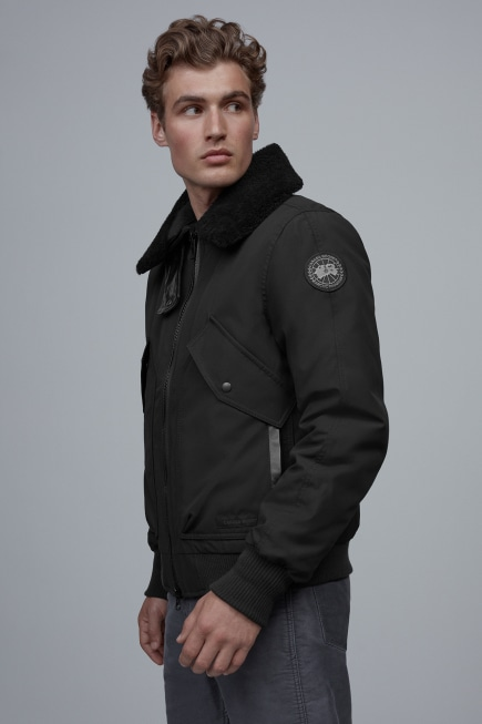 Men's Bromley Black Label Bomber Jacket