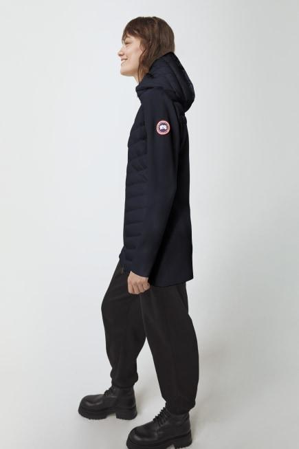 Manteau à capuchon en tricot HyBridge