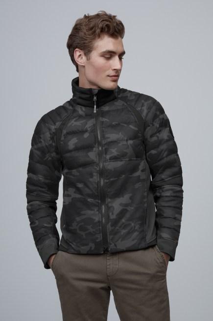 Manteau en duvet HyBridgePerrenBlackLabel pour hommes