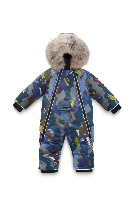 Baby Lamb Snowsuit Print