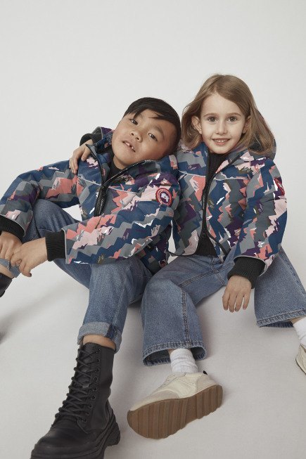 Kids Grizzly Bomber Jacket Print
