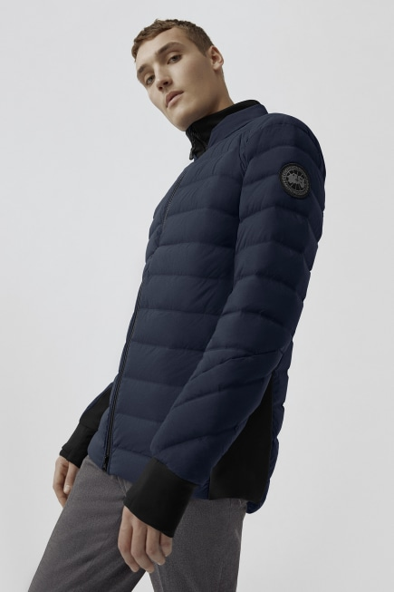 Men's HyBridge CW Down Bomber Black Label