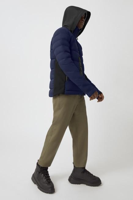 Manteau en duvet HyBridgeCWBlackLabel pour hommes