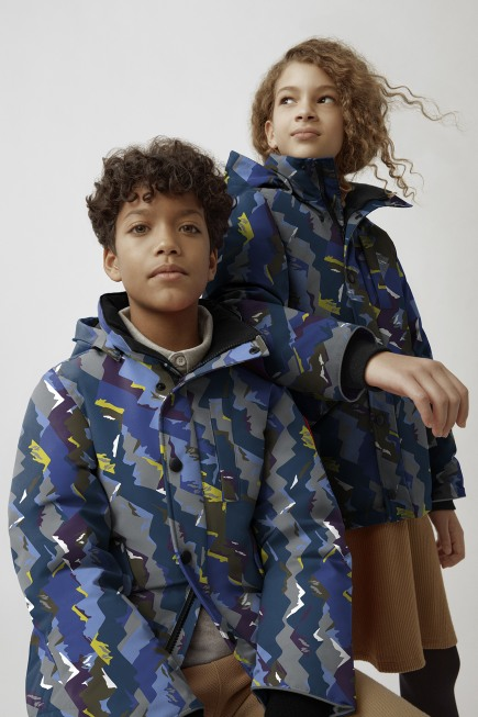 Youth Logan Parka Print