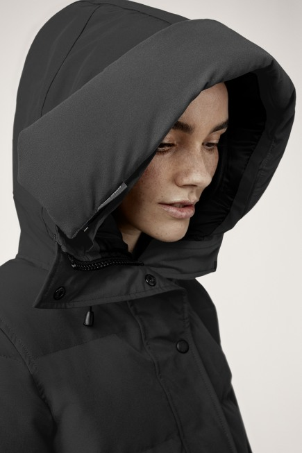 Shelburne Parka Black Label with Hood Trim