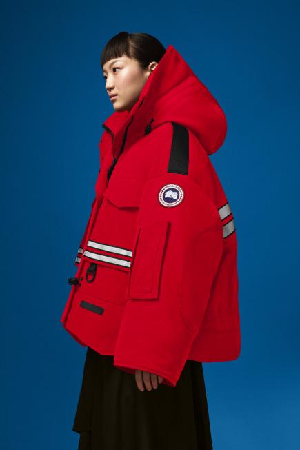 Angel Chen 联名款女士短款 Snow Mantra 派克大衣