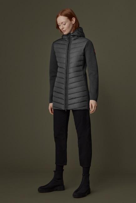HyBridge Knit Hooded Jacket