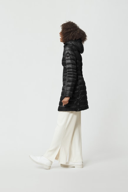 Women's Cypress Hooded Down Jacket Black Label