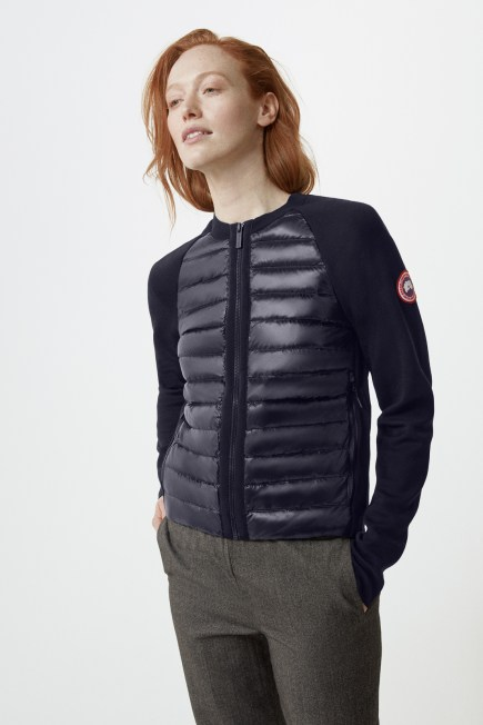 Manteau compact en tricot HyBridge