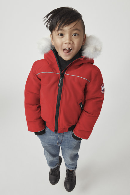 Kids Grizzly Bomber Jacket