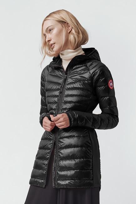 Women's Hybridge Lite Tech Hooded Down Coat