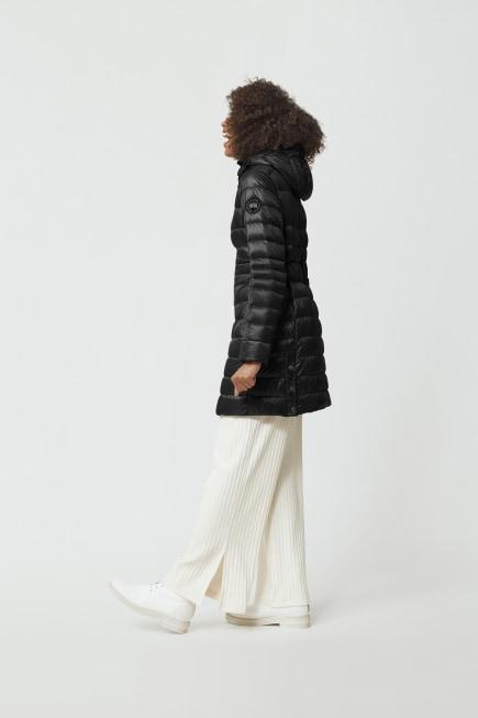 Women's Cypress Hooded Down Jacket Black Label