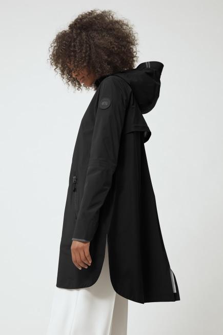 女士 Kitsilano 黑标防雨夹克