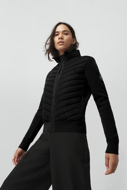 Women's HyBridge Knit Down Jacket Black Label