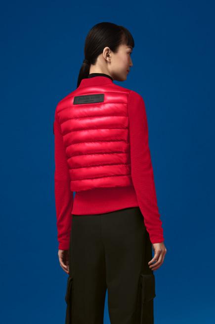 Women's Hybridge Knit Jacket For Angel Chen