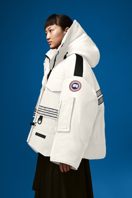 Women's Cropped Snow Mantra Parka For Angel Chen