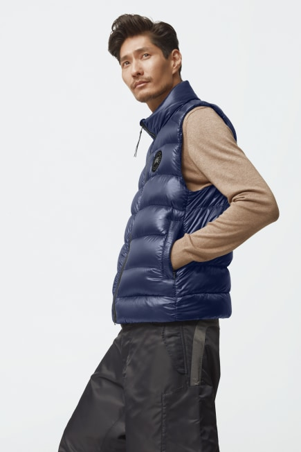 Men's Crofton Down Vest Black Label